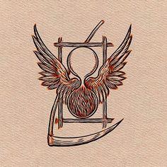 Painting - Freemason, Mason, Masonic Symbolism by Esoterica Art Agency , Masonic Art, Masonic Symbols, Freemasonry, Occult, Moose Art, Signs, Painting, Animals, Image
