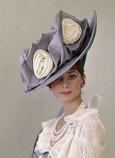 Audrey Hepburn (My Fair Lady 1963)    what a hat!