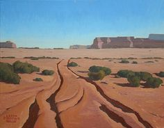 Rough Road by Logan Hagege Oil ~ 16 x 20