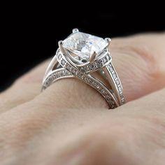 Kaden - Accented Engagement Ring | MiaDonna.com http://miaco.us/kaden