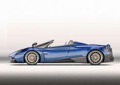 The new Pagani Huayra Roadster (Credit: Pagani)