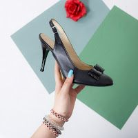 top-sandale-cu-toc-din-piele-naturala-2 Shoes, Fashion, Stylish Sandals, Sandals, Moda, Zapatos, Shoes Outlet, La Mode, Fasion