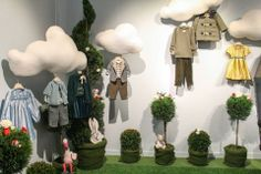 head in the clouds trade show booth display #tradeshow #kidsclothes