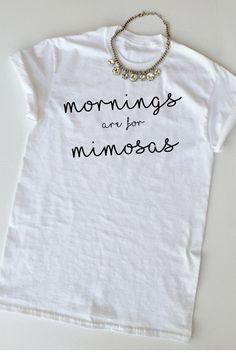 Mimosas T Shirt