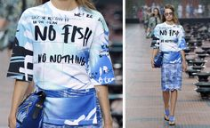 Typography does the talking at the S/S 2014 collections | Fashion | Wallpaper* Magazine