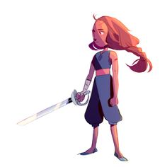 Connie In Sworn By The Sword | steven universe sworn to the sword | Tumblr
