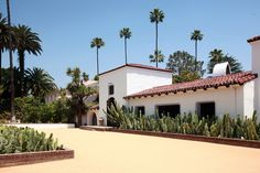 Diane Keaton's former home in Beverly HIlls. Beautifylly restored and currently owned by Ryan Murphy of Glee.