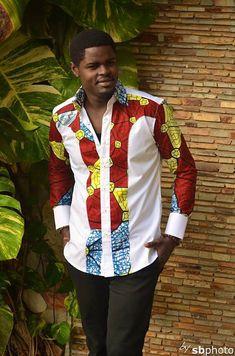 Ankara Xclusive: Top 15 Ankara styles for guys in 2018 African Fashion Ankara, African Inspired Fashion, African Print Fashion, African Attire For Men, African Wear, African Dress, African Style, Ankara Styles For Men, Latest Ankara Styles