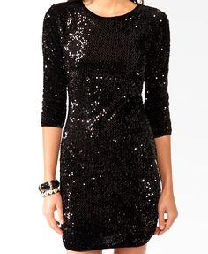 Paillette Velvet Dress   FOREVER21 - 2030186464