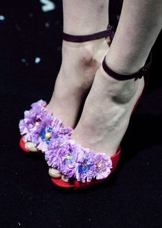 Shoe detail from Sister by Sibling SS14. http://www.dazeddigital.com/fashion/article/17162/1/sister-by-sibling-ss14