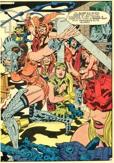 Splash page from Mr. Miracle , art by Jack Kirby comicbookartists Comic Book Pages, Comic Book Artists, Comic Artist, Comic Books Art, Dc Comics Superheroes, Bd Comics, Marvel Comics, Anime Comics, Female Furies