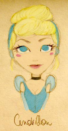 Cinderella by epsilonya.deviantart.com on @deviantART