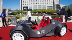 Local Motors has 3D printed a fully working crowd-sourced car called the Strati