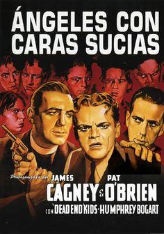 Ángeles con caras sucias (1938) EEUU. Dir: Michael Curtiz. Cine negro. Thriller. Mafia - DVD CINE 636