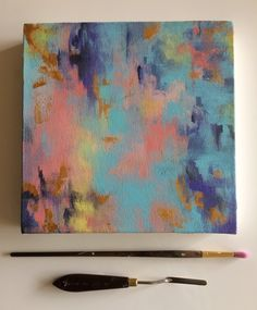 Rococo #1, Acrylic Abstract Painting, Contemporary Art by JessicaFraserArt on Etsy