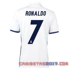 Camiseta RONALDO Real Madrid 2016 2017 primera