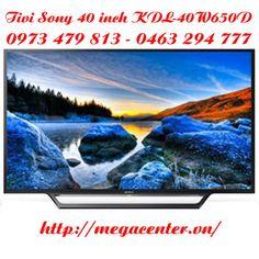 Tivi led sony 40W650 smart tivi 40 inch Full HD model 2016 về hàng