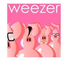 POSTER - WEEZER THE PINK ALBUM - DOWNLOAD ISTANTANEO.    Questa inserzione è per un file del poster come illustrato nella foto numero 1.    ideale