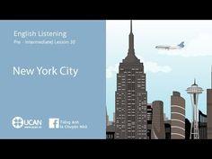 Learn English Listening | Pre-Intermediate - Lesson 30. New York City - YouTube
