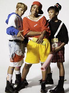 tlc outfits ideas * tlc outfits ` tlc ` tlc say yes to the dress ` tlc outfits ` tlc group ` tlc outfits ideas ` tlc costume ` tlc halloween costume 90s Party Outfit, 90s Outfit, Hip Hop Fashion, 90s Fashion, Fashion Trends, Fashion Shirts, School Fashion, Urban Fashion, Fashion Styles
