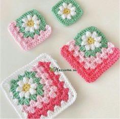Crochet Daisy Flower Blanket Free Patterns