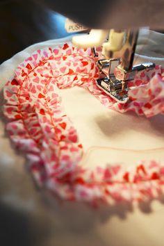 ruffle valentine shirt
