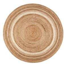 Shop for Jani Tara Ivory Rings Jute Rug (4' Round). Get free shipping at Overstock.com - Your Online Home Decor Outlet Store! Get 5% in rewards with Club O!