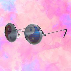 yin yang sunglasses| use the codeokaywowcool for 10% off at harajuku alien! space grunge pastel grunge pastel goth cyber grunge net punk fachin sunglasses accessories yin yang under20 under30 storenvy discount harajuku alien