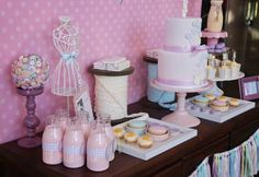Cute as a Button 1st Birthday Party