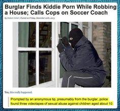 Good guy burglar...
