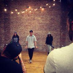 Hip hop classes with Misha Gabriel