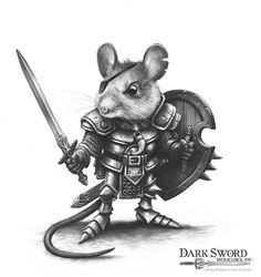 Mouse Warrior - Miniature Lines