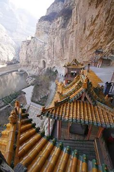The Hanging Temple of Hengshan, China