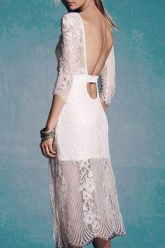 beautiful lace dress   @andwhatelse