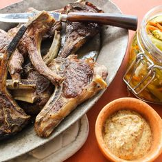 These Lamb Lollichops with Pickled Vegetable Chow Chow are sure to be a crowd pleaser.