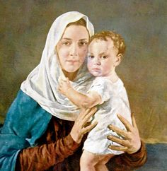 'Madonna with Gaelic features': Our Lady, Queen of Ireland by Leo Whelan 80 yrs.ago...