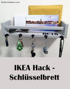 Ein Schlüsselbrett aus dem IKEA BEKVÄM Gewürzregal zaubern. Ein einfacher DIY IKEA Hack, welcher jedes Vorzimmer aufwertet.