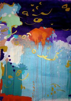 Original Abstract Modern Art Painting
