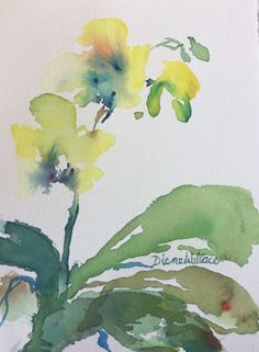 Buy Zen Orchid #2, Watercolour by Diane Wallace on Artfinder. Discover thousands of other original paintings, prints, sculptures and photography from independent artists.