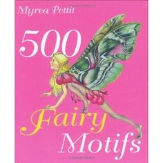 I love using the fairy motifs in this book for art projects such as shrink plastic jewelry and glass painting. Lots of colorful images!