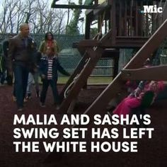 The Obamas just donated their swing set to a nearby shelter. #news #alternativenews