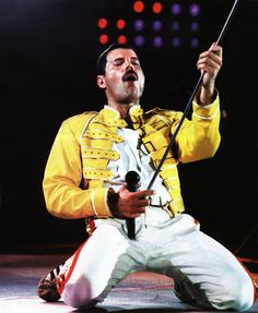 Freddie Mercury Concert Yellow Replica Jacket