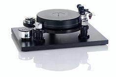 Acoustic Solid - Machine Black Plattenspieler