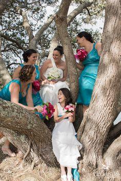 Bride and Bridesmaids - Pegasus Photography
