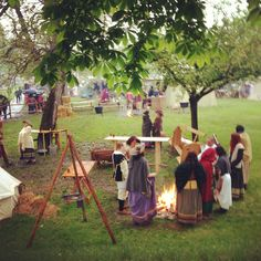 Medieval camping Rothenburg