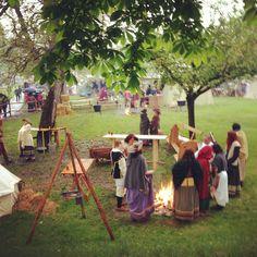 Medieval camping Rothenburg