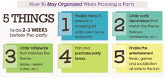 Event Planning Checklist - Stay Organized with Big Dot of Happiness!
