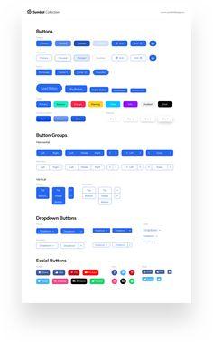 Symbol Design System for Sketch