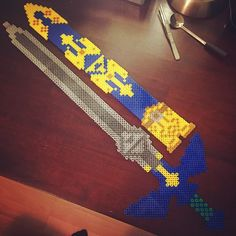 Legend of Zelda perler project by sweetnightmarex