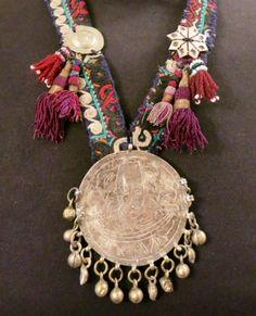 Tribal pendant . Looks like banjara jewellery